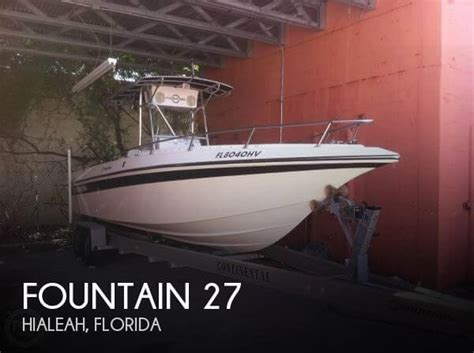 27 ft fountain boats for sale fountain 27 boat for sale in hialeah fl for 27 800