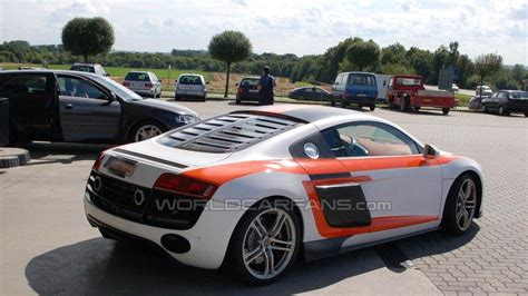 Audi R8 Rs by False Audi R8 Gt Rs Sighting Reported
