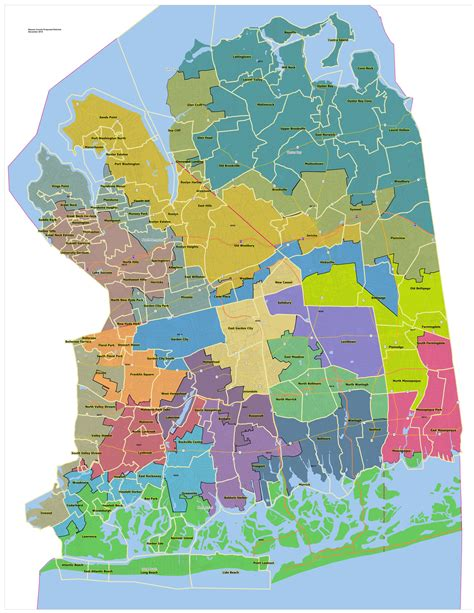 Nassau County Search Nassau County Oks New District Maps Despite Outcry