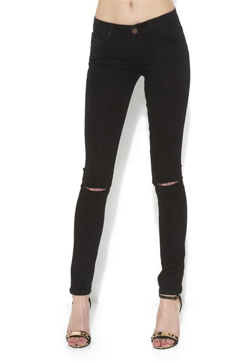 ripped black jeans womens bod jeans wholesale women knee ripped black jeans j5 fashion