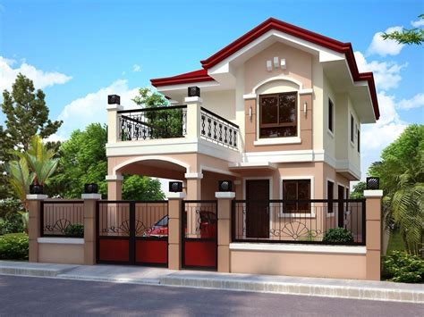 create house plans 50 images of modern two story house design bahay ofw
