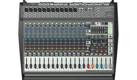 Power Mixer Behringer Pmp6000 behringer pmp6000 1600w powered 20 ch mixer with multi fx