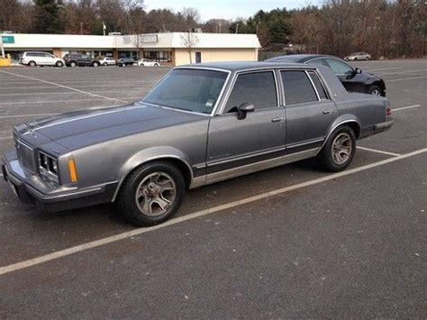 sell used 1986 pontiac bonneville base sedan 4 door 3 8l in cambridge massachusetts united