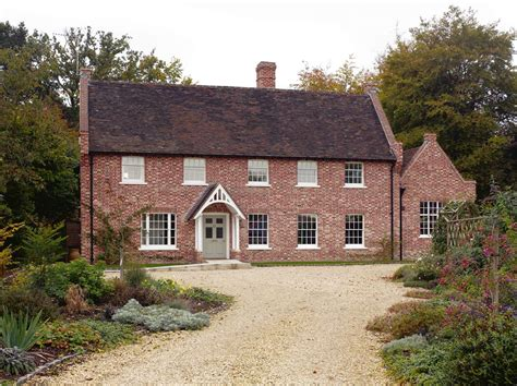 country house red brick country house wall house design exclusive red