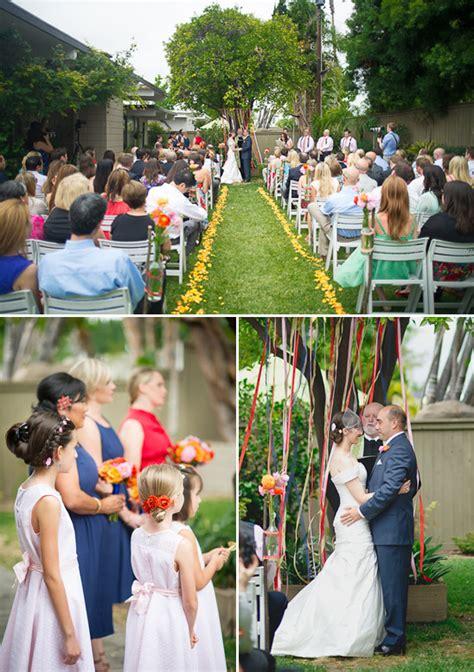 Diy Backyard Weddings by Diy Backyard Wedding On The 4th Of July