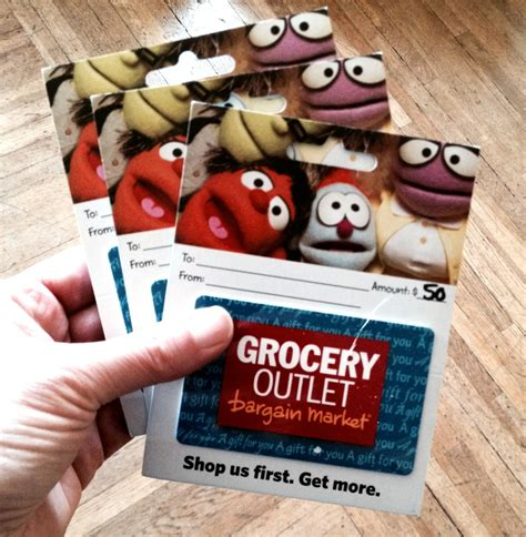 Outlet Gift Card - want to win a 50 gift card to the grocery outlet