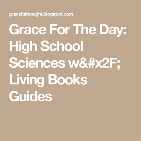 apostolic a living grace books 17 best ideas about high school science on