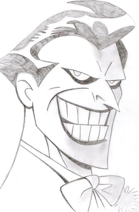 joker coloring pages easy joker portrait by bangcreative on deviantart