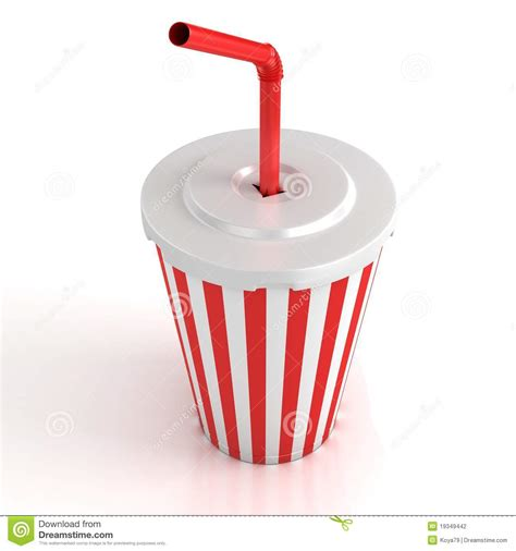 Fast food paper cup stock illustration. Image of graphic   19349442
