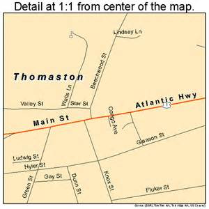 thomaston maine map 2376330
