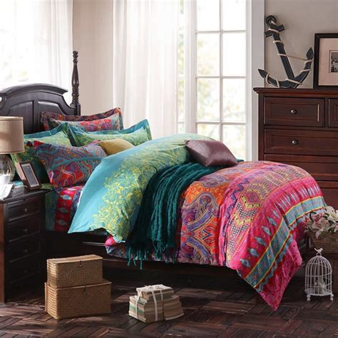 comfy comforters boho chic bedding sets bohemian style bedding are comfy