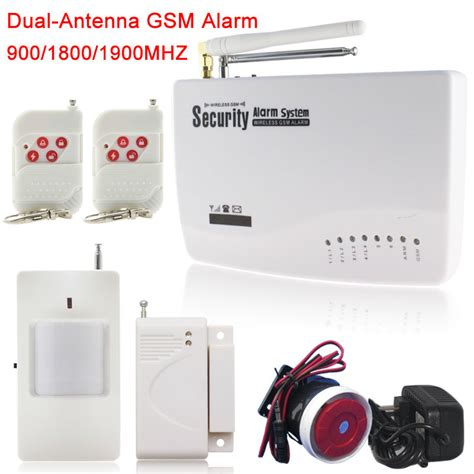 new units wireless wired sim gsm home burglar security gsm