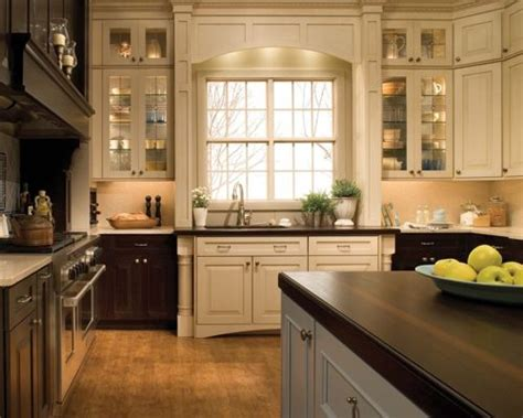 mixed kitchen cabinets mixed wood cabinets home design ideas pictures remodel