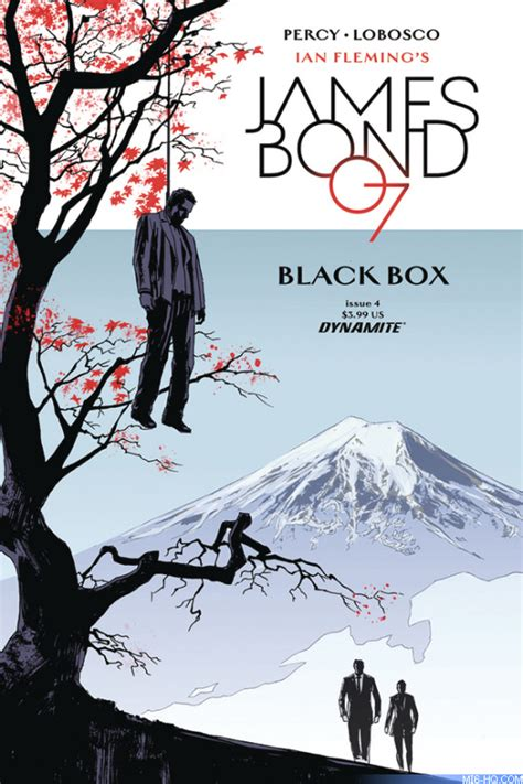 james bond black box black box series preview check out details on the first four issues of the new 007 comic