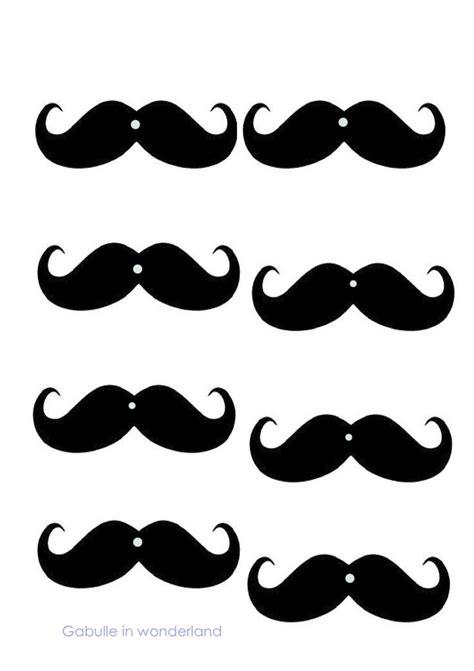 free mustache template gabulle in diy mustache straws tutorial and