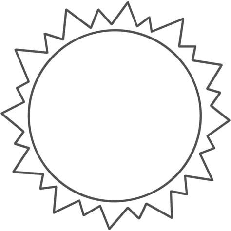 Sun Coloring Pages For Toddlers by Free Printable Sun Coloring Pages For