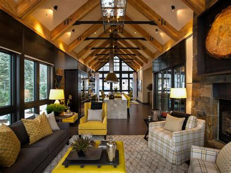 Mountain Homes Interiors by Rustic Mountain Style Lake Tahoe Dream Home Idesignarch
