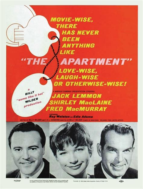 The Appartments by Classic The Apartment 1960