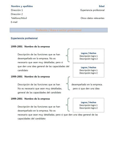 Exemple De Lettre En Espagnol Modele Cv Espagnol One Cv