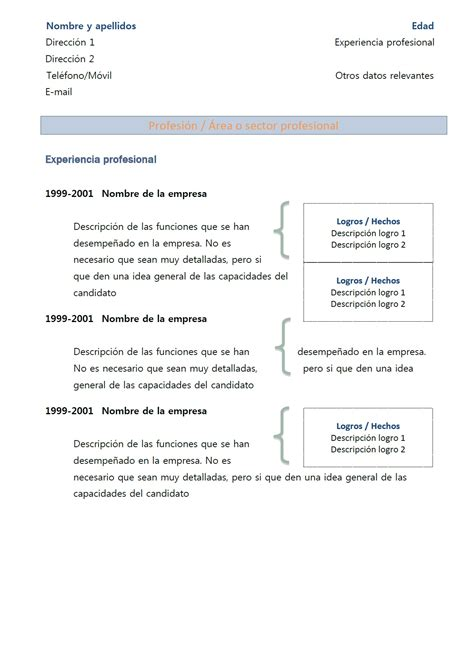 Modèle Présentation Cv by Resume Format Pr 233 Sentation De Cv 2013