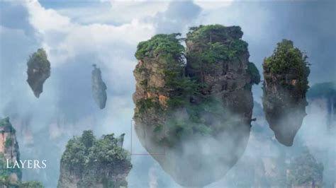 paint island floating islands matte painting and breakdown