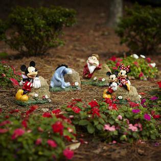 Disney Garden Decor Disney Garden Rock Mickey And Minnie Limited Availability Outdoor Living Outdoor Decor