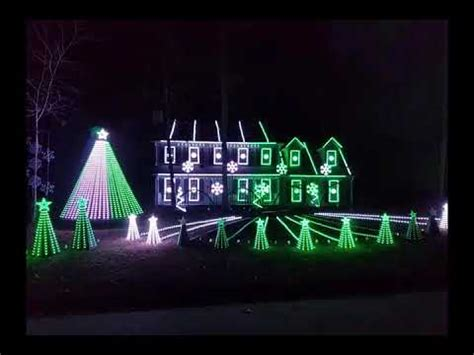 fayetteville georgia christmas light display youtube