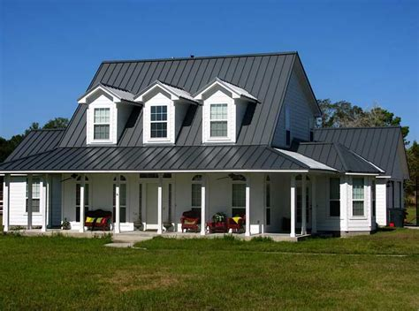 Rancher Home by Metal Roofing Garvin Construction