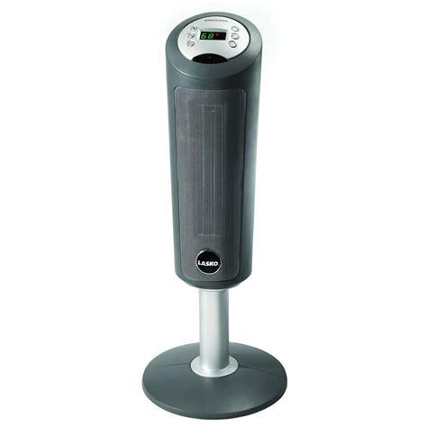 Pedestal Heater lasko 30 in digital ceramic pedestal heater with remote 5365 the home depot