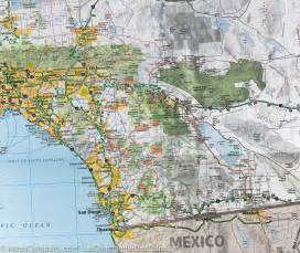 carte routi 232 re de la californie et du nevada usa