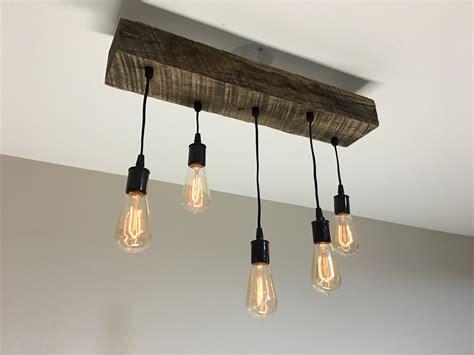 Beam Light Fixture Timber Beam Light Fixture Modern Midwest
