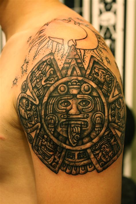 aztec tribal pattern tattoos aztec tattoos designs ideas and meaning tattoos for you