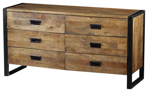 Dresser Ind by Delia Dresser Made Of Mango Wood Industrial Dressers