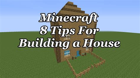 minecraft improve your house build tips youtube minecraft how to build a house 8 tips to make your house