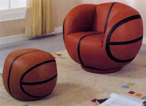 basketball chair and ottoman children basketball chair and ottoman furniturendecor com