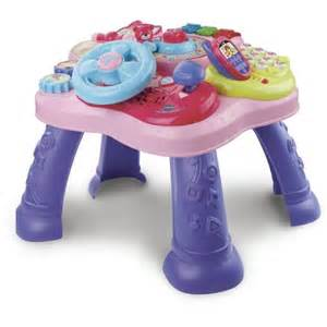 vtech magic learning table pink walmart