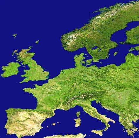 map of europe images europe satellite image