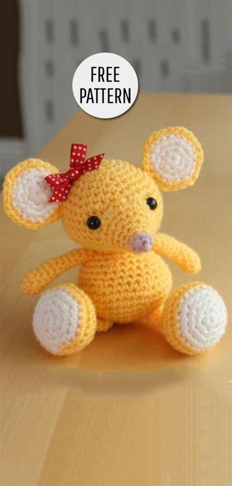amigurumi mouse amigurumi mouse free pattern