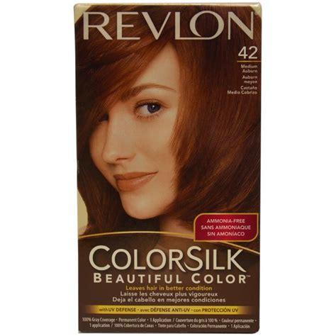 Revlon Colorsilk Beautiful Color 1 revlon colorsilk beautiful color 42 medium auburn hair