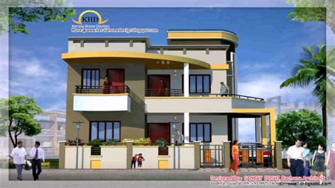 Indian House Plans With Photos by House Front Elevation Design Software Youtube