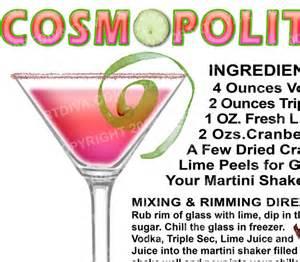 cosmopolitan martini recipegreat com