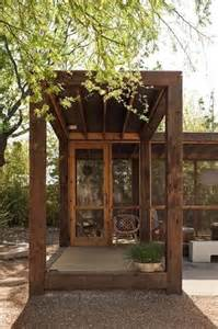 free standing porch yard