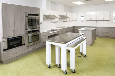 wheelchair accessible kitchen design contemporary