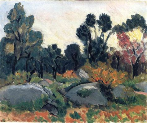 Country Style House landscape henri matisse wikiart org
