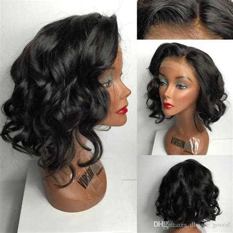 how to style a bob with 10 inch hair short cut lace front wigs human hair 10 20 inches full