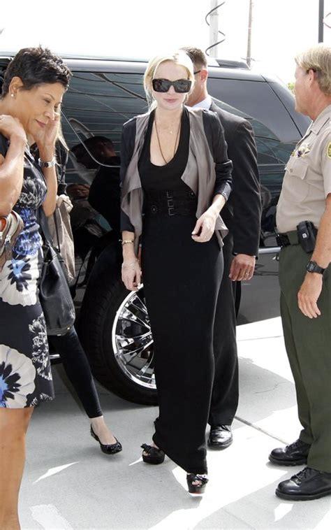Lindsay Lohan In Christian Louboutins by Christian Louboutin Eyewear