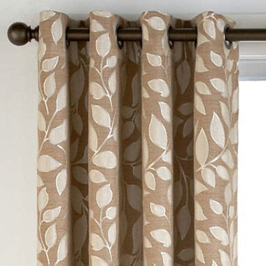 jcpenney blinds and curtains leaf prints curtain panels and leaves on pinterest