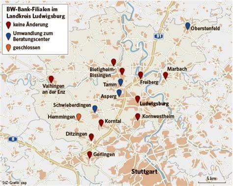 bw bank oberstenfeld bw banken im kreis ludwigsburg service vor ort nur noch
