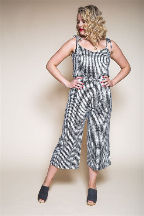 dress pattern jumpsuit sallie jumpsuit maxi dress pattern closet case patterns