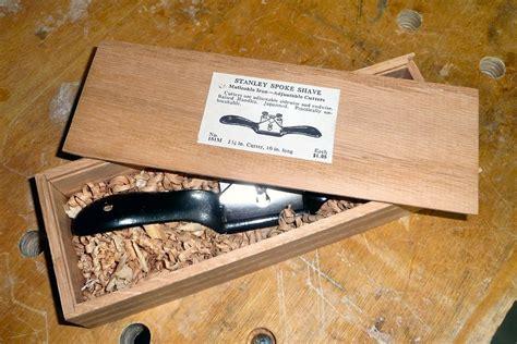 stanley  spokeshave  box  scott  turner
